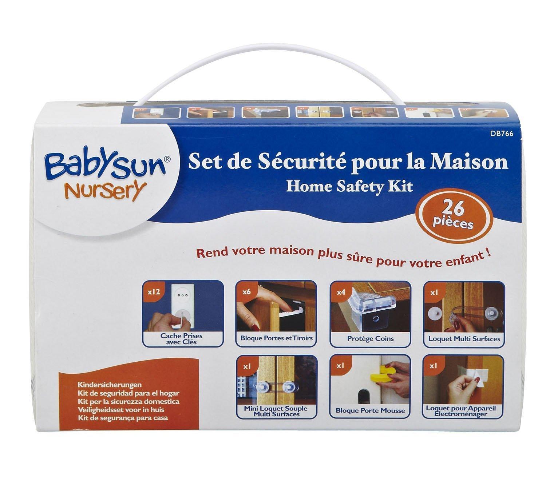 Kit de Sécurité enfant Babysun Nursery  (26 Pièces)