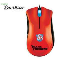 Souris gaming Razer DeathAdder Optimus Prime Transformers orange ou violet