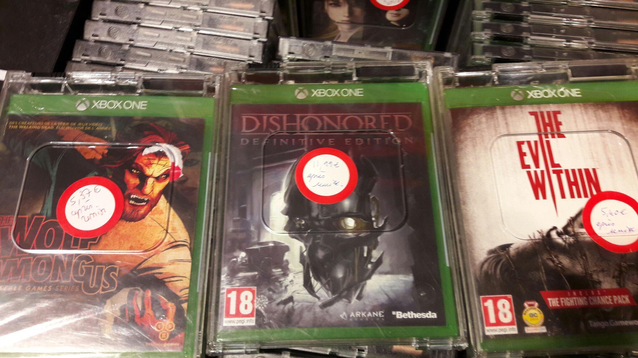 Sélection de jeux Xbox One et PS4 en promotion - Ex: The Evil Within