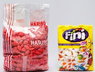 Sélection de bonbons Haribo  en promo - Ex : Assortiment fraises tagada 1,5 kg + œufs frits 1 kg
