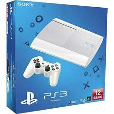 PlayStation 3 Slim Blanche 12Go