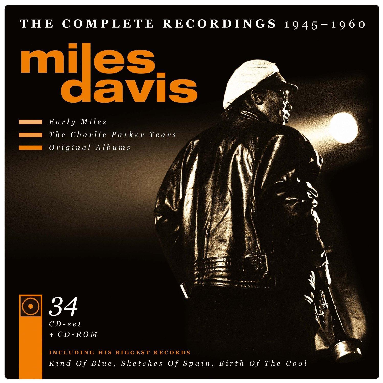 [Panier Plus] Coffret 34 CD The complete recordings Miles Davis - L'intégrale 1945-1960