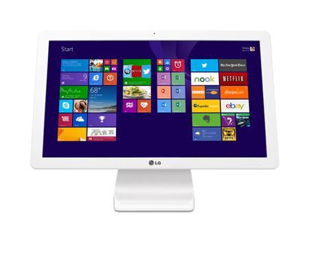 "Ordinateur tout-en-un 21.5"" Full HD  LG 22V240-L.AR22F (Celeron N2930, 4 Go RAM, 1 To HDD, windows 10)"
