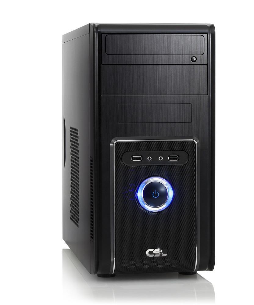 PC de bureau CSL Speed 4624 - i5-6500, GTX960 4 Go, RAM 8 Go, HDD 1 To + Doom