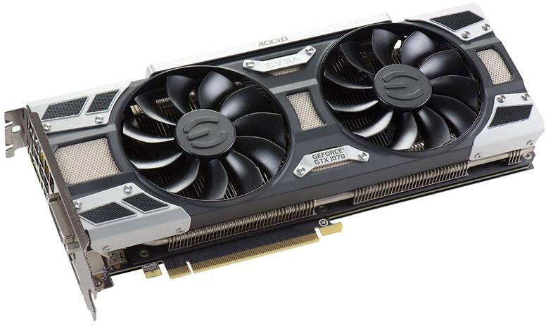 Carte graphique EVGA Nvidia GeForce GTX 1070 SC Gaming ACX 3.0