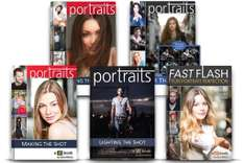 5 ebooks en anglais sur la photo de portrait