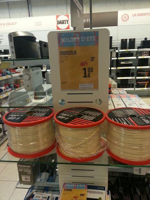 Cable monster xpnw au mètre