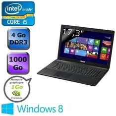 Pc portable Asus X75VD-TY252H (17'- i5 - geforce - 4go - 1To) avec ODR(100 €)