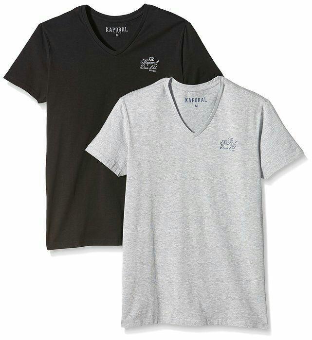 Lot de 2 T-shirts Kaporal 5 Gift Homme