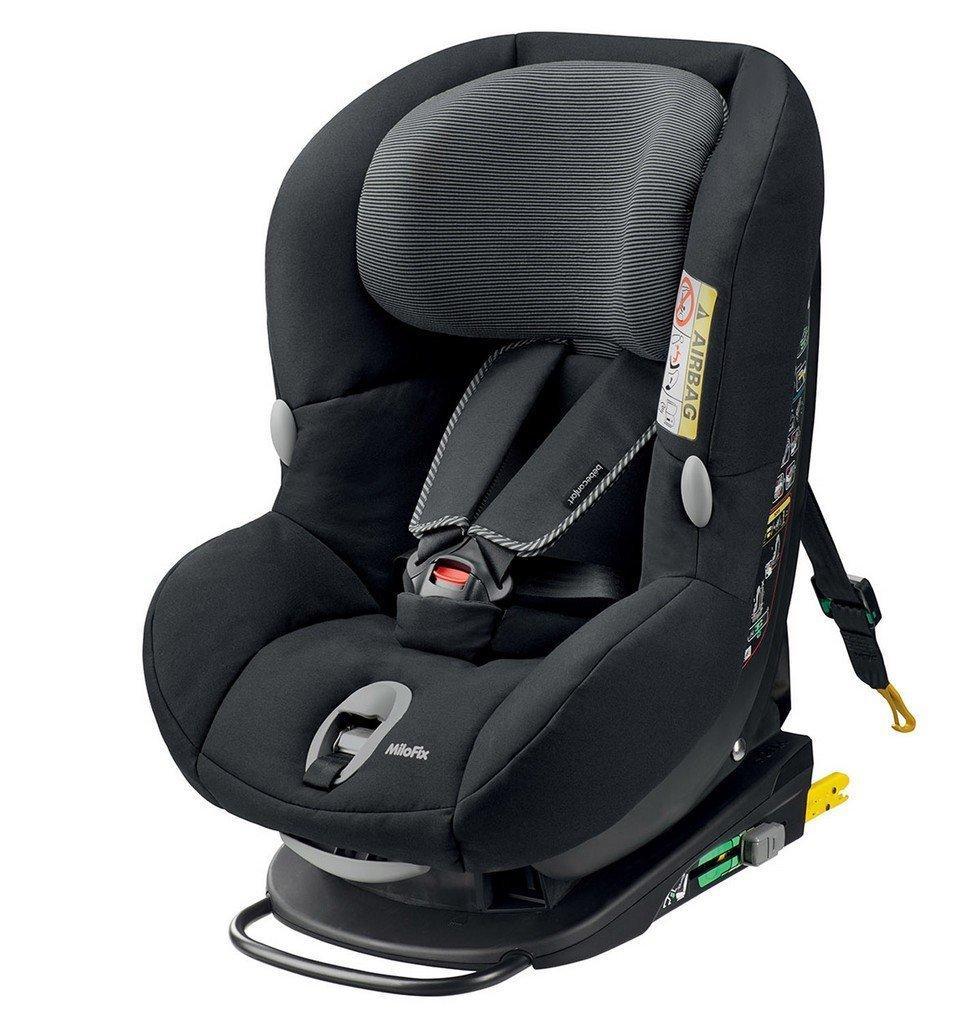 Siège Auto Bébés MiloFix Confort - 0+/1. Noir