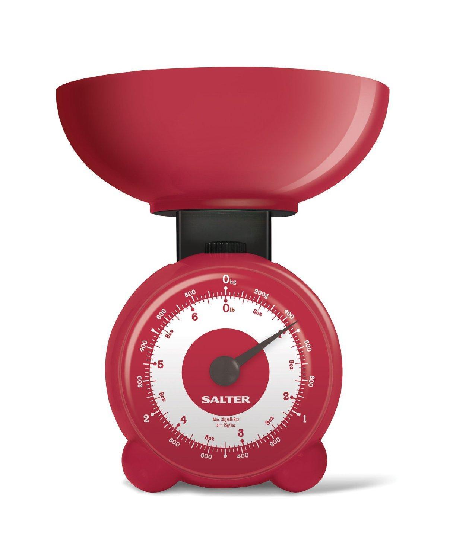Balance de cuisine mécanique Salter Orb - Rouge