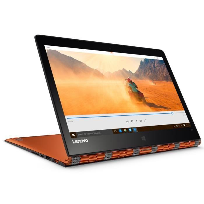 """PC hybride tactile 13.3"""" Lenovo Yoga 900-13ISK (i5-6200U, 8 Go de RAM, 512 Go en SSD)"""