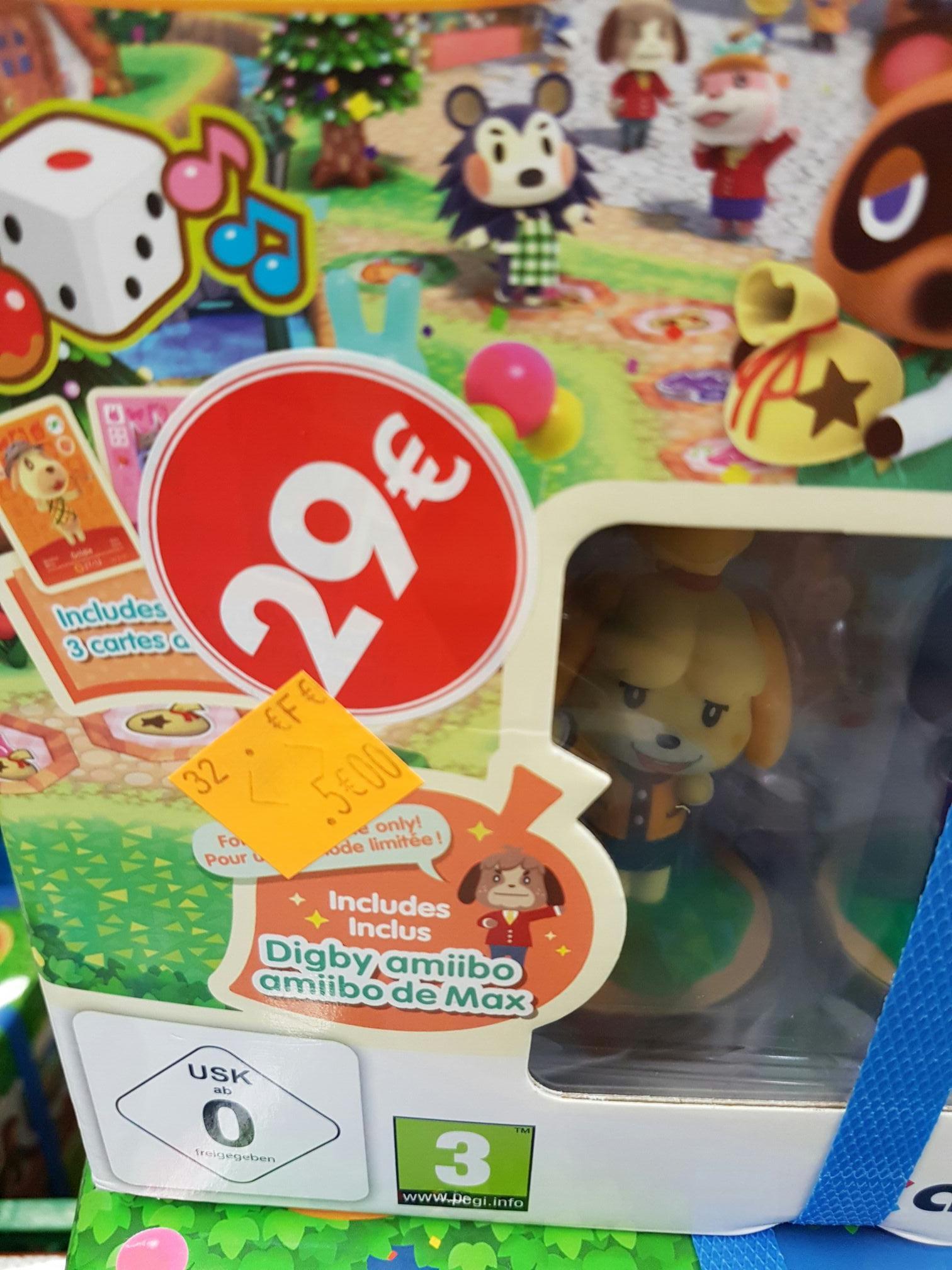 Animal Crossing : Amiibo Festival - Edition Limitée (2 Amiibo + 3 cartes) sur Wii U