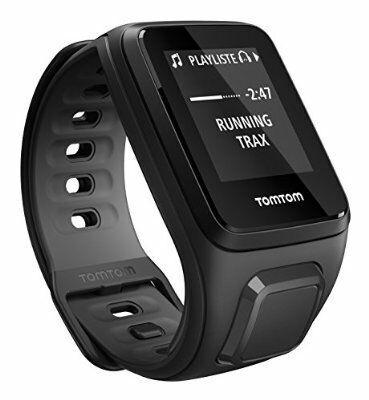 Montre GPS TomTom Runner 2 Cardio + Music - Noir