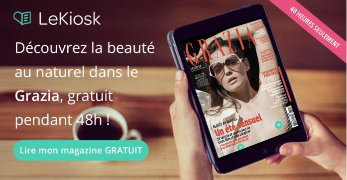 Magazine Grazia n°350 (version numérique) gratuit pendant 48H