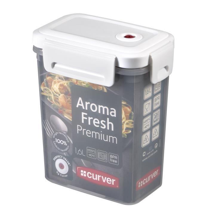 Boîtes Hermétiques de Conservation Curver Aroma Fresh - 3 x 1L ou 1.1L + 1.7L