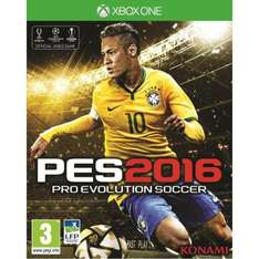 Jeu Pro Evolution Soccer (PES) 2016 sur Xbox One - Edition Day One