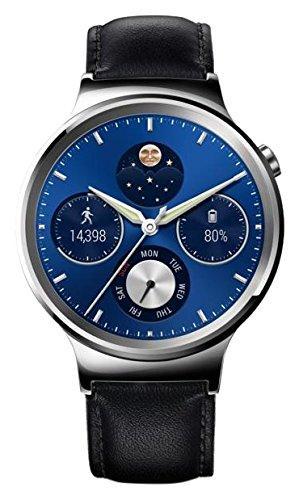 [Premium] Montre Huawei Watch Classic pour Smartphone Cuir Noir