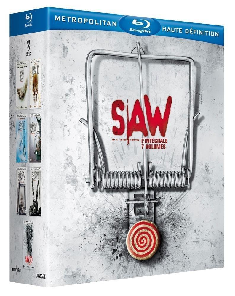 [Premium] Coffret Blu-ray Saw : L'intégrale (7 Volumes)