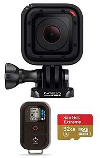 [Premium] Pack Gopro HERO Session + Télécommande GoPro + Carte Mémoire MicroSDHC SanDisk 32 Go