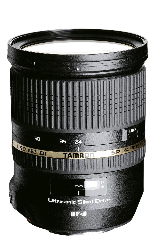 [Premium] Objectif Tamron SP 24-70mm F/2,8 Di VC USD (monture Canon et Nikon)