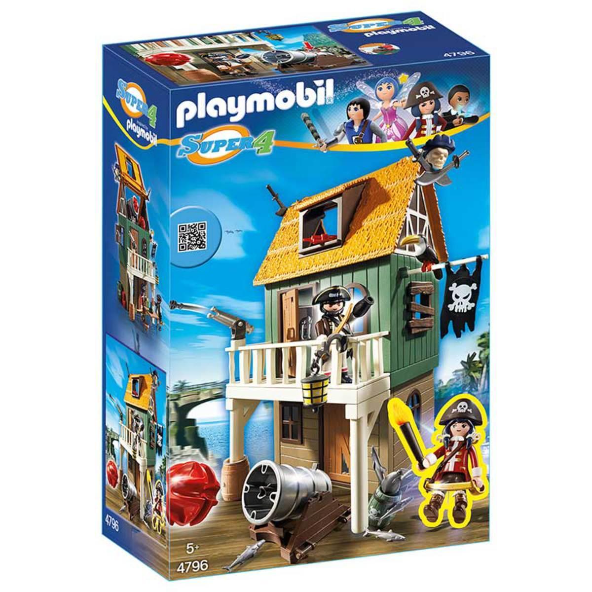 [Premium] Playmobil A1505508 - Fort Des Pirates Et Ruby - Super4