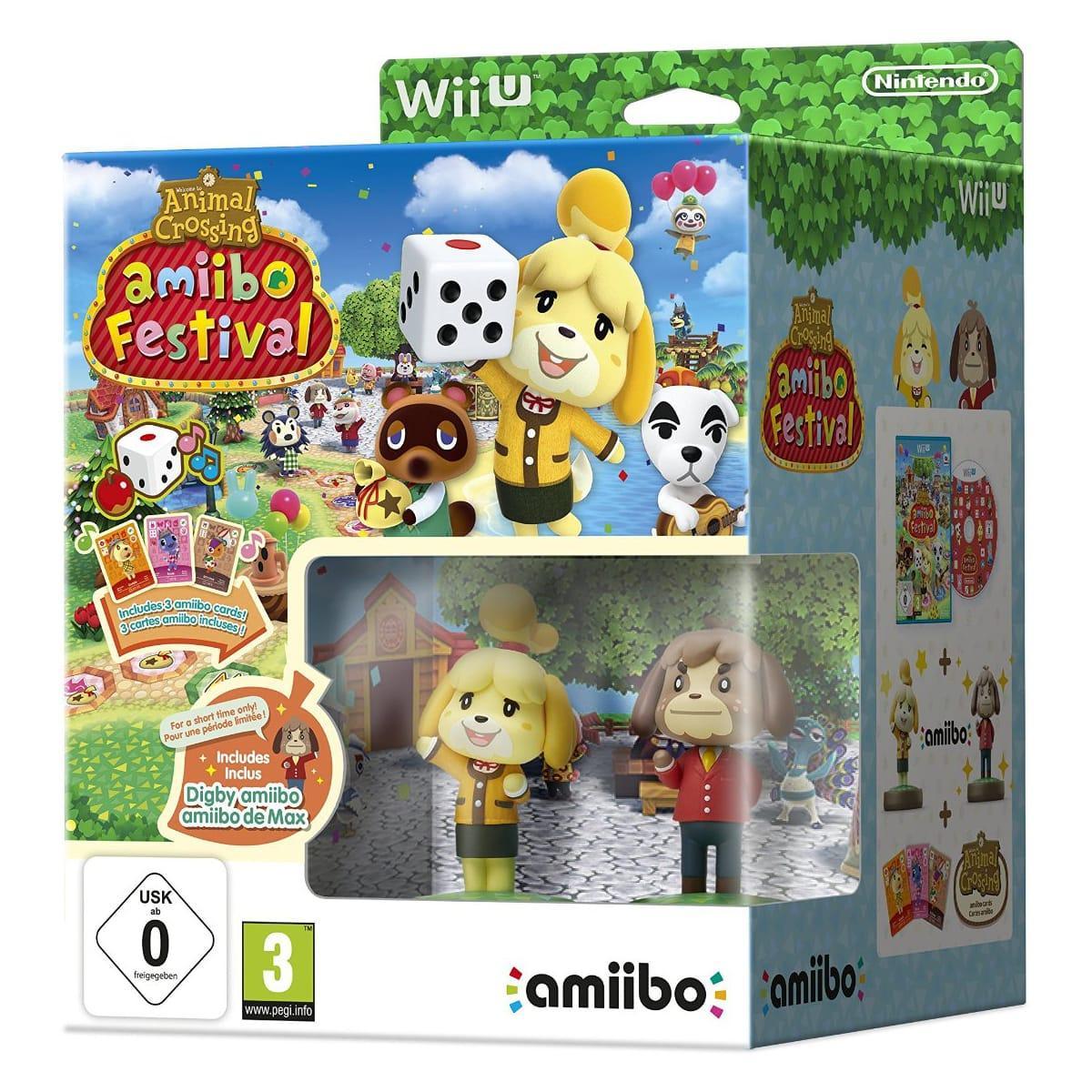 [Premium] Animal Crossing : Amiibo Festival - Edition Limitée (2 Amiibo + 3 cartes)  sur Wii U