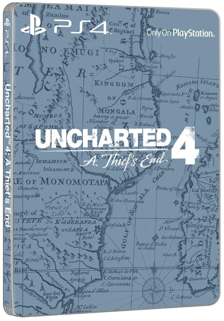 [Premium] Uncharted 4 Edition Limitée Steelbook