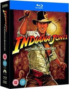 Coffret Bluray : Intégrale Indiana Jones