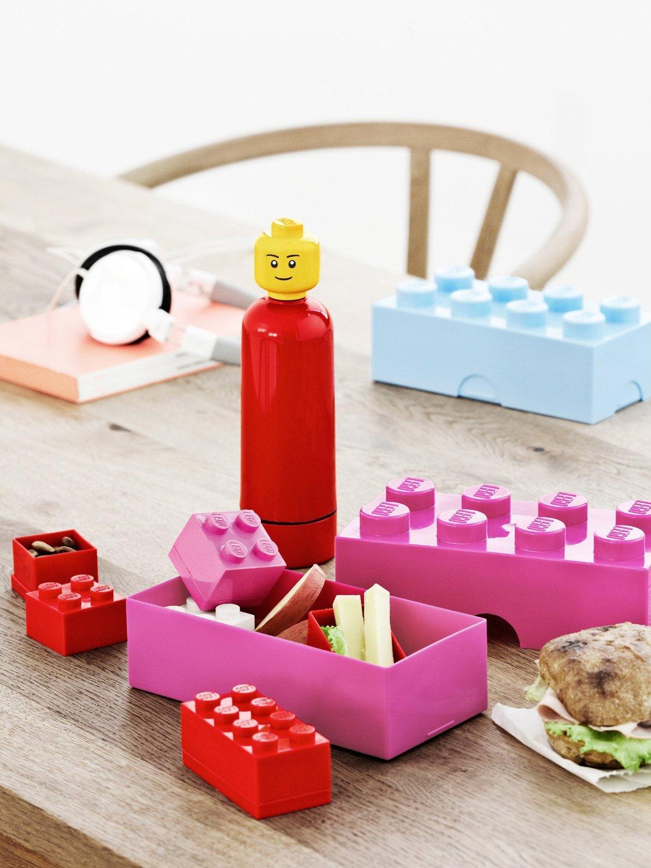 Lunch Box Lego - Rose [Panier plus]