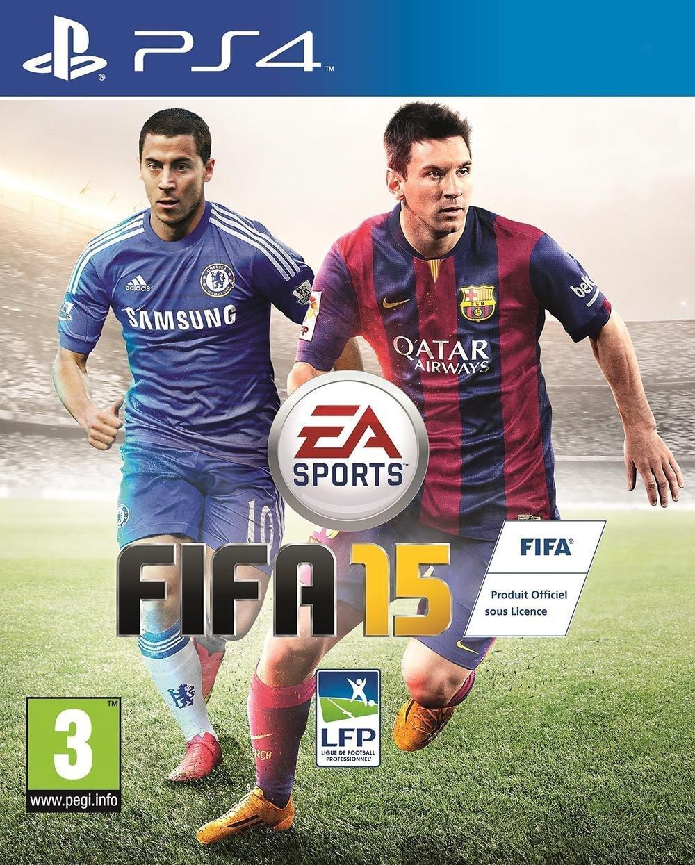 Jeu Fifa 15 sur PS4