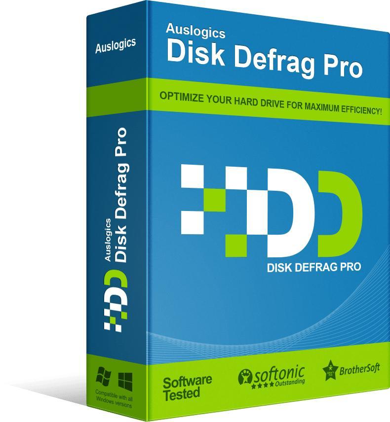 Logiciel Auslogics Disk Defrag Pro gratuit