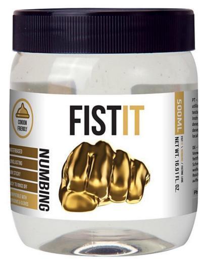 Lubrifiant à base d'eau Fist-it Numbing 500 ml