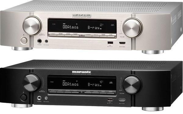 Ampli réseau HC 7.2 Marantz NR1606 Slim - Upscaling 4K, Pre-outs, Dolby Atmos (5.2.2), DTS:X & MultEQ