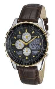 Montre Chronographe Accurist MS774B Bracelet cuir,