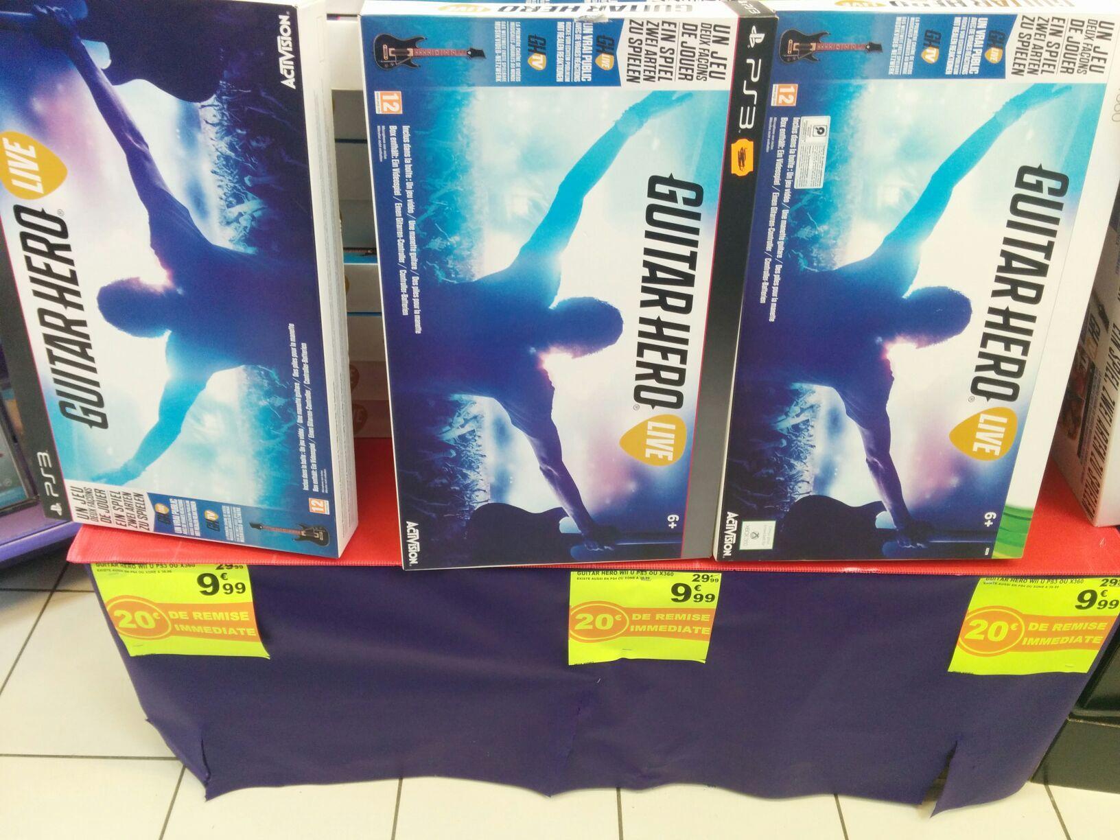 Jeux Guitar Hero sur PS3, Xbox 360 et Wii U