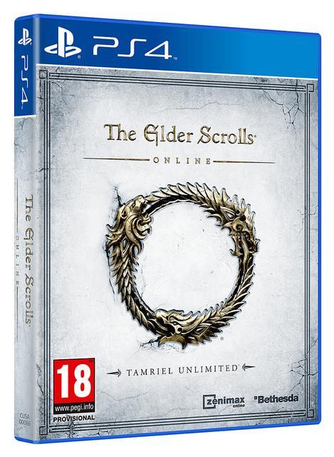 Jeu The Elder Scrolls Online : Tamriel Unlimited sur PS4