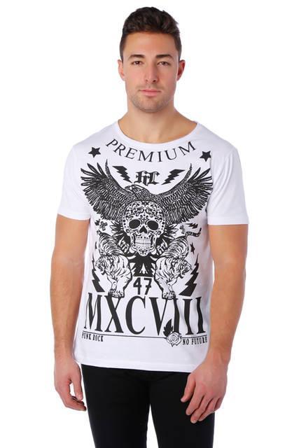 T-shirt Homme imprimé - Col rond