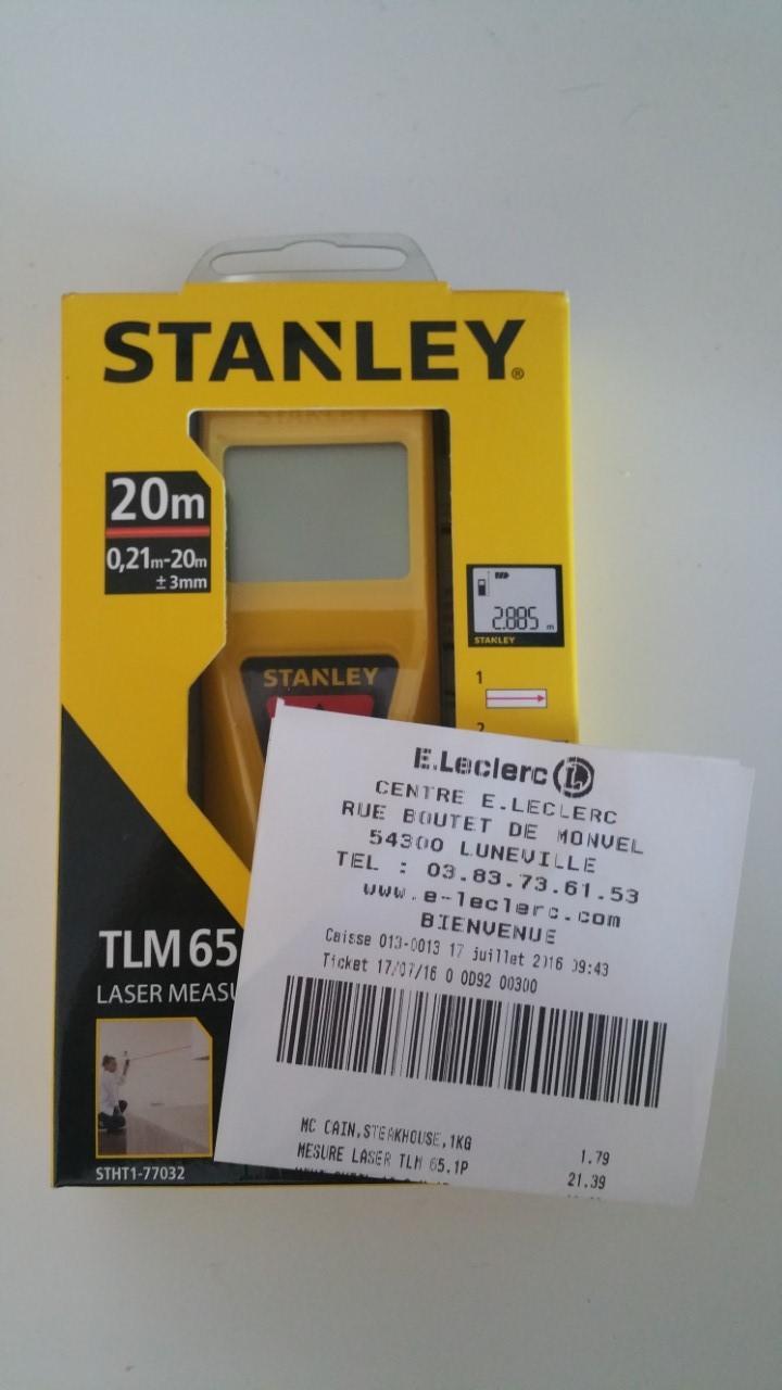 Télémètre Stanley TLM65