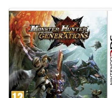 Jeu Monster Hunter Generations 3DS + Goodie Recueil des 4 Condamnés