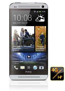 Smartphone HTC One Silver avec ODR (70€)