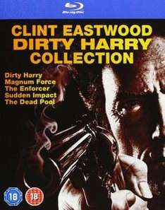Coffret Blu-ray Clint Eastwood - L'Inspecteur Harry - L'Intégrale (5 films)