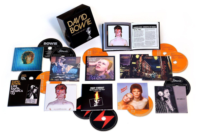 Coffret 12 CDs : David Bowie Five Years 1969 - 1973