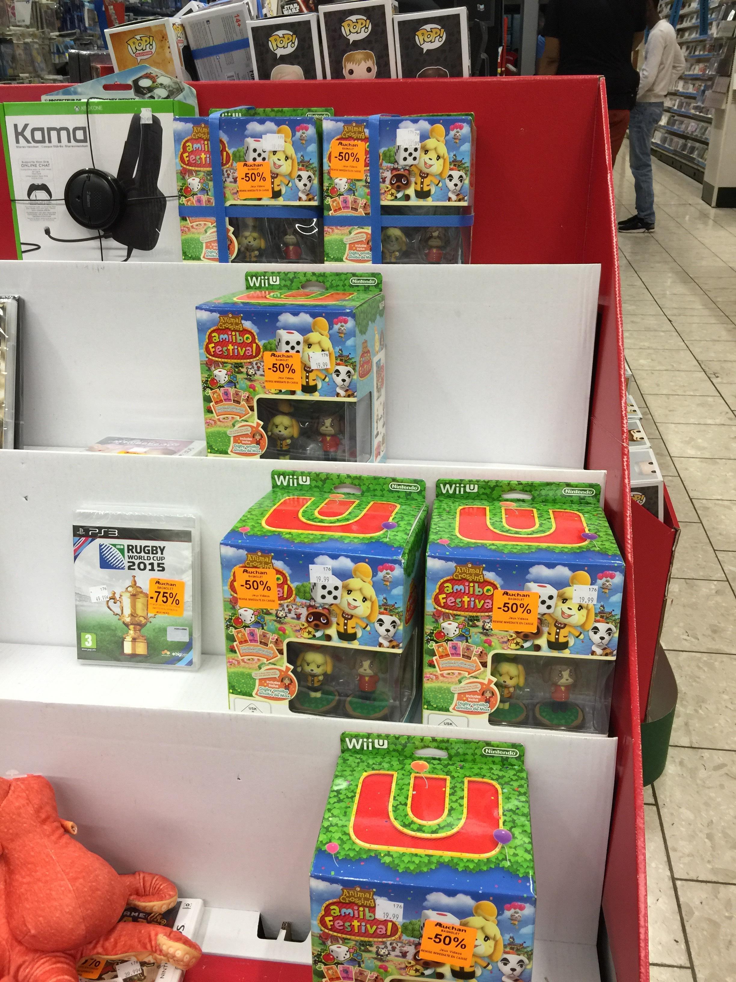 Jeu Amiibo festival sur Nintendo Wii U