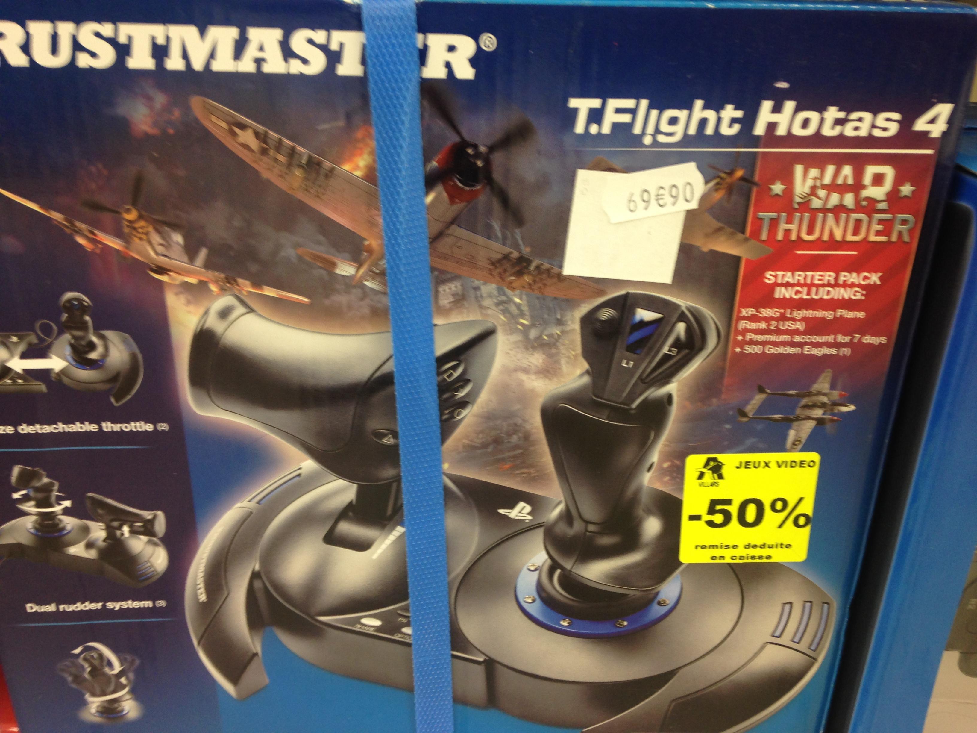 Sélection de jeux-vidéos  / Accessoires  en promo - Ex : Joystick T.Flight Hotas 4