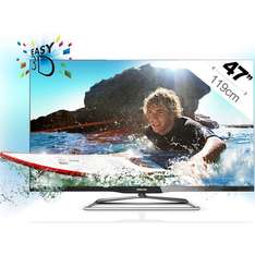 TV LED 3D Philips 47PFL6907H Ambilight
