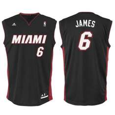 Maillot de basket-ball Adidas Replica - NBA Miami Lebron James (du 14 ans au L)