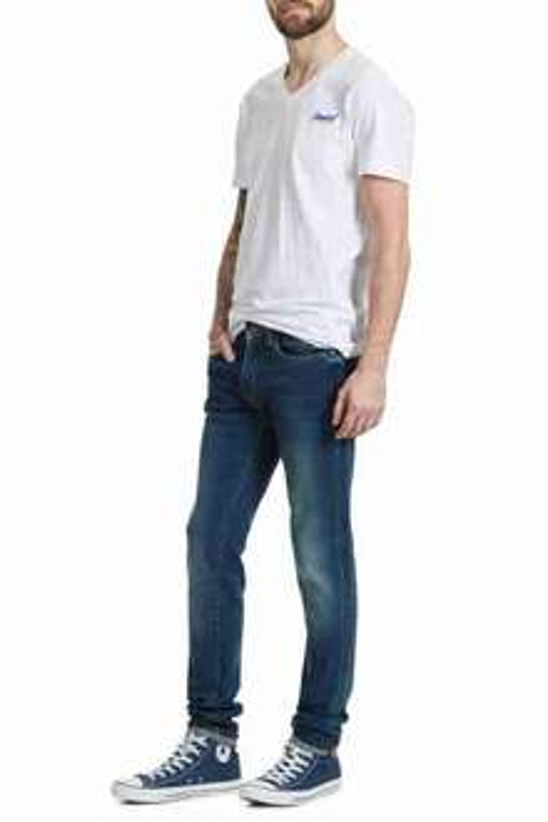 15% de réduction supplémentaires sur les vêtements en Jeans - Ex : Jeans Japan Rags Skinny (Bleu)