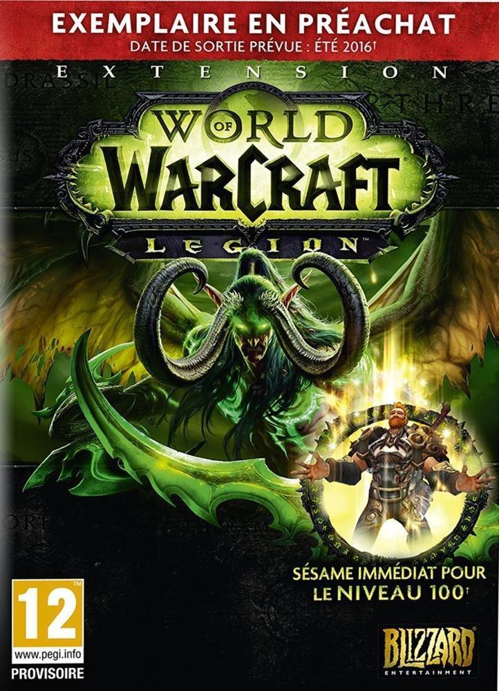 Boite Préachat World of Warcraft : Legion sur PC
