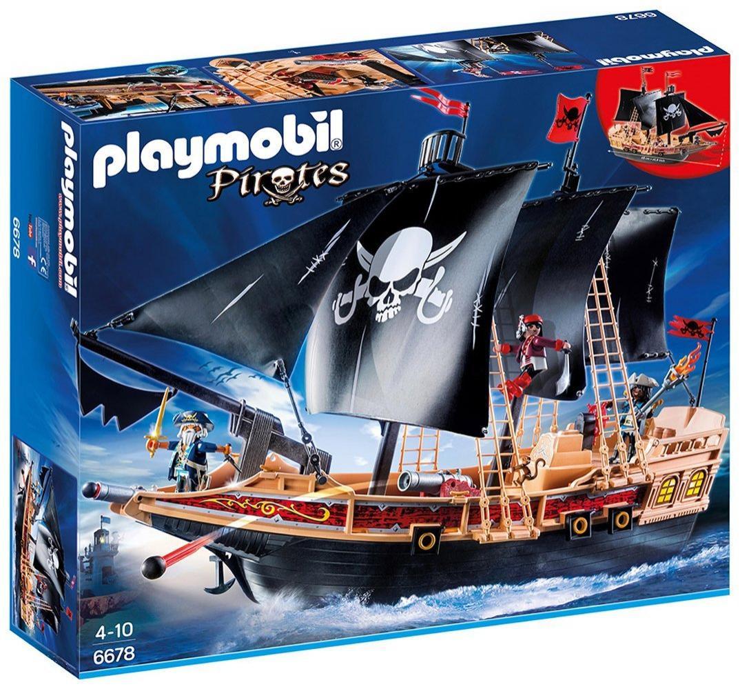 Playmobil (6678) Bateau pirates des ténèbres